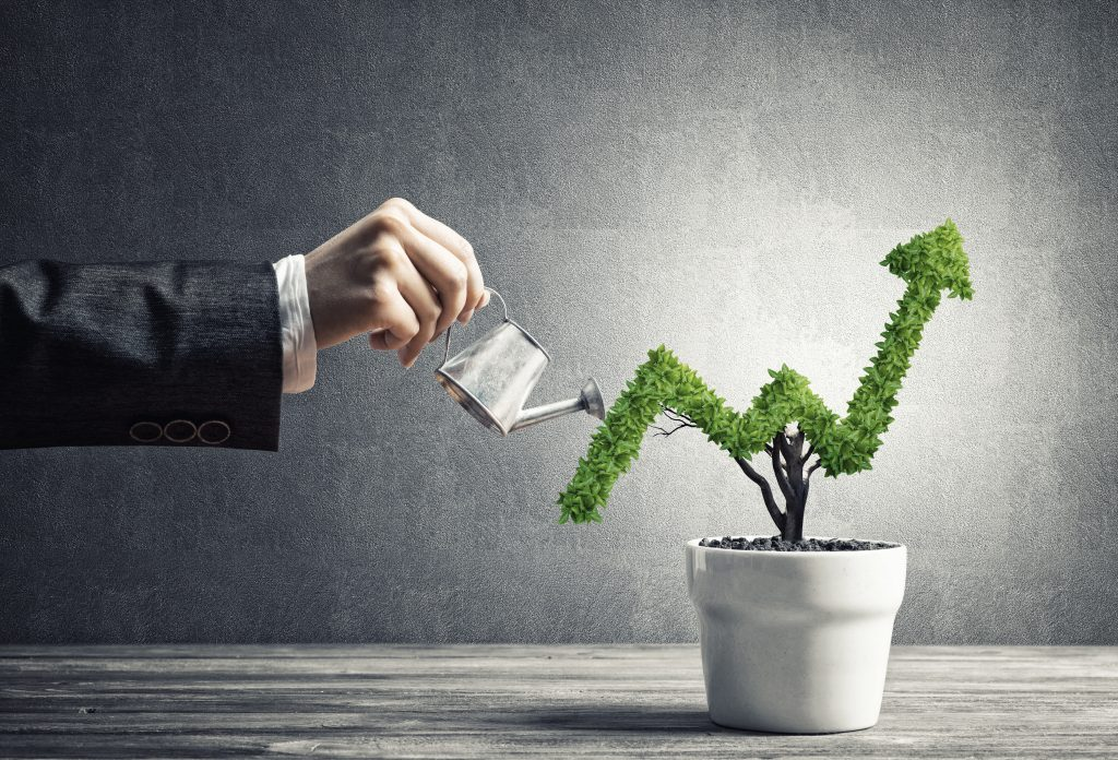 Innaffiare la crescita aziendale
