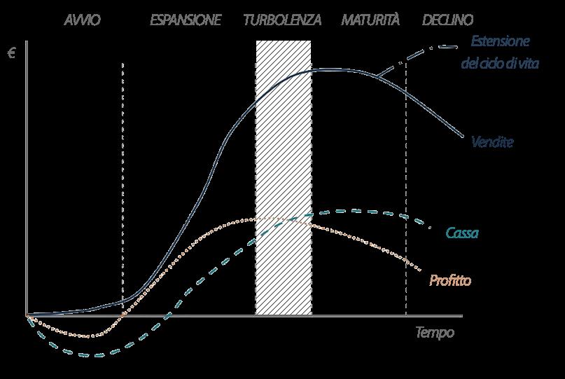 Ciclo di vita aziendale: fase di turbolenza